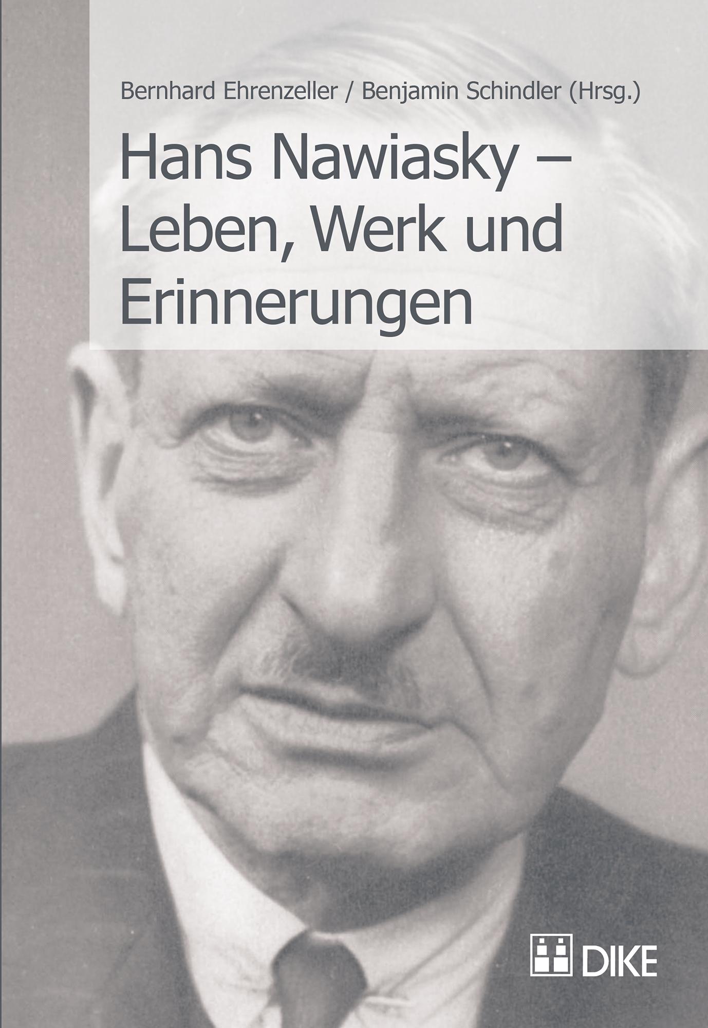 Hans Nawiasky – Leben, Werk und Erinnerungen