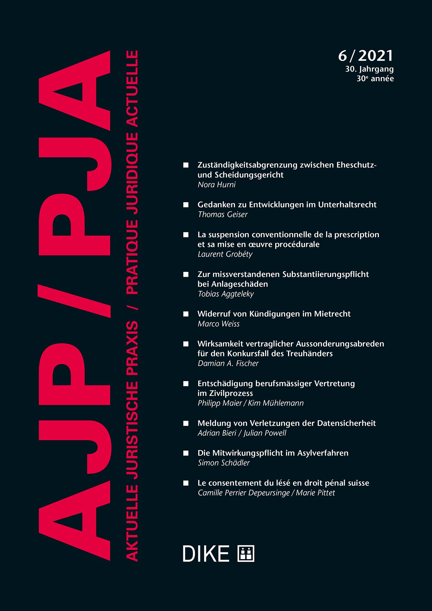 AJP/PJA 06/2021