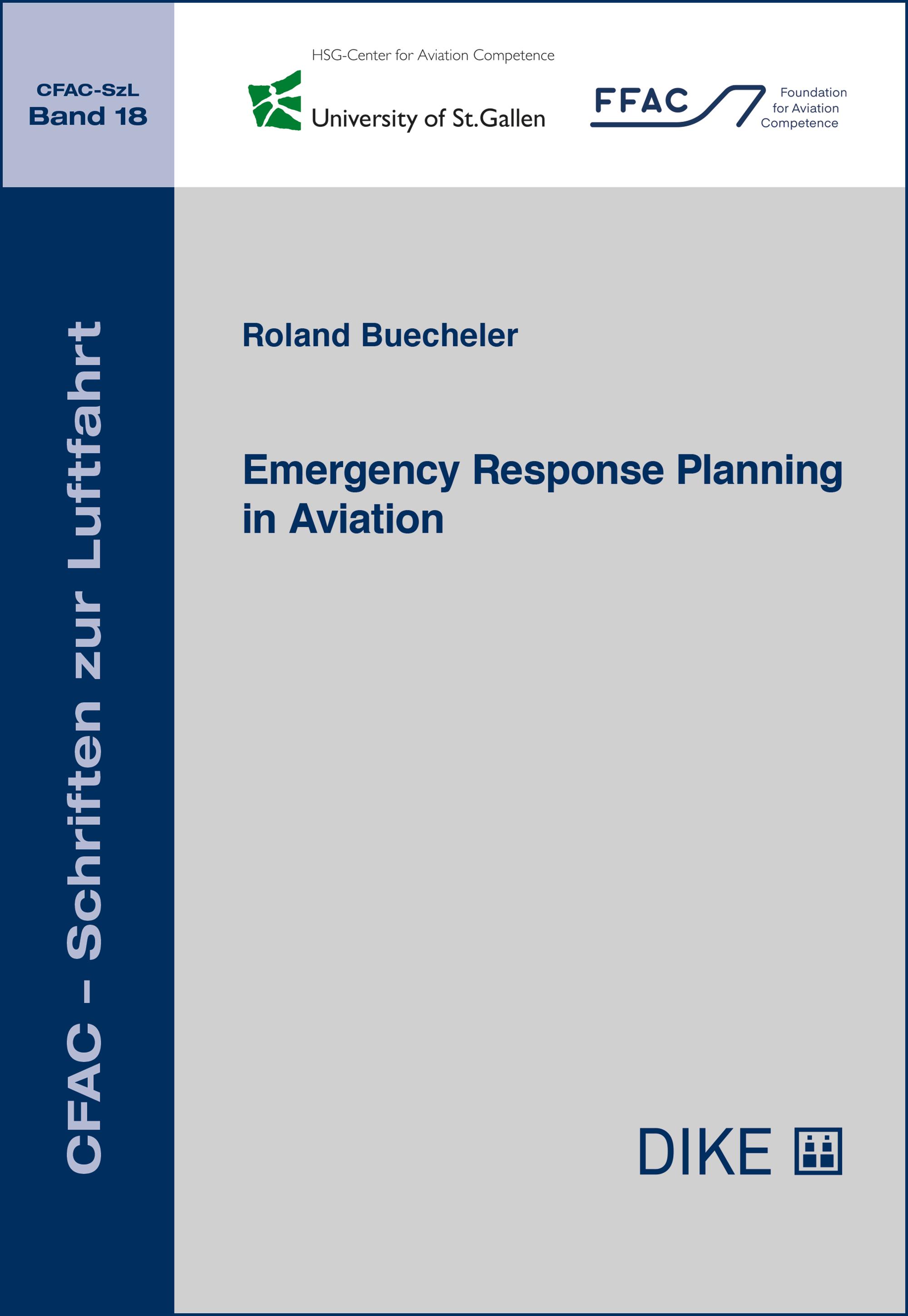 Emergency Response Planning in Aviation