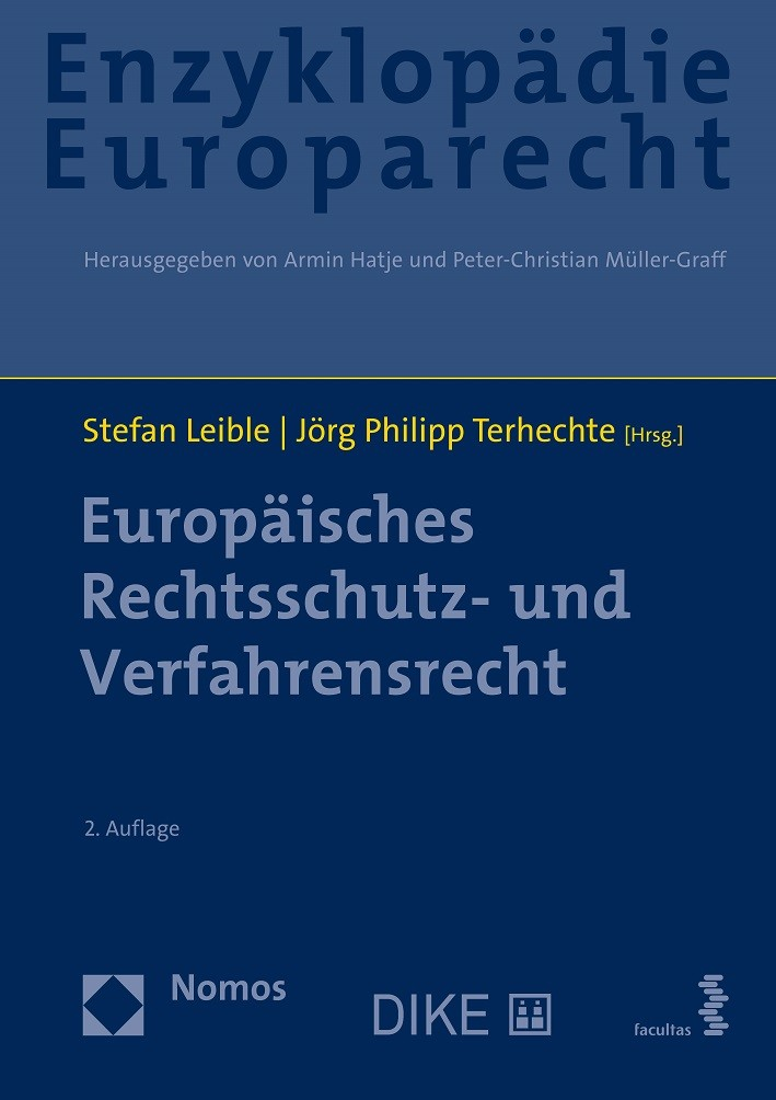 Europäisches Rechtsschutz- und Verfahrensrecht