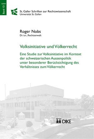Volksinitiative und Völkerrecht