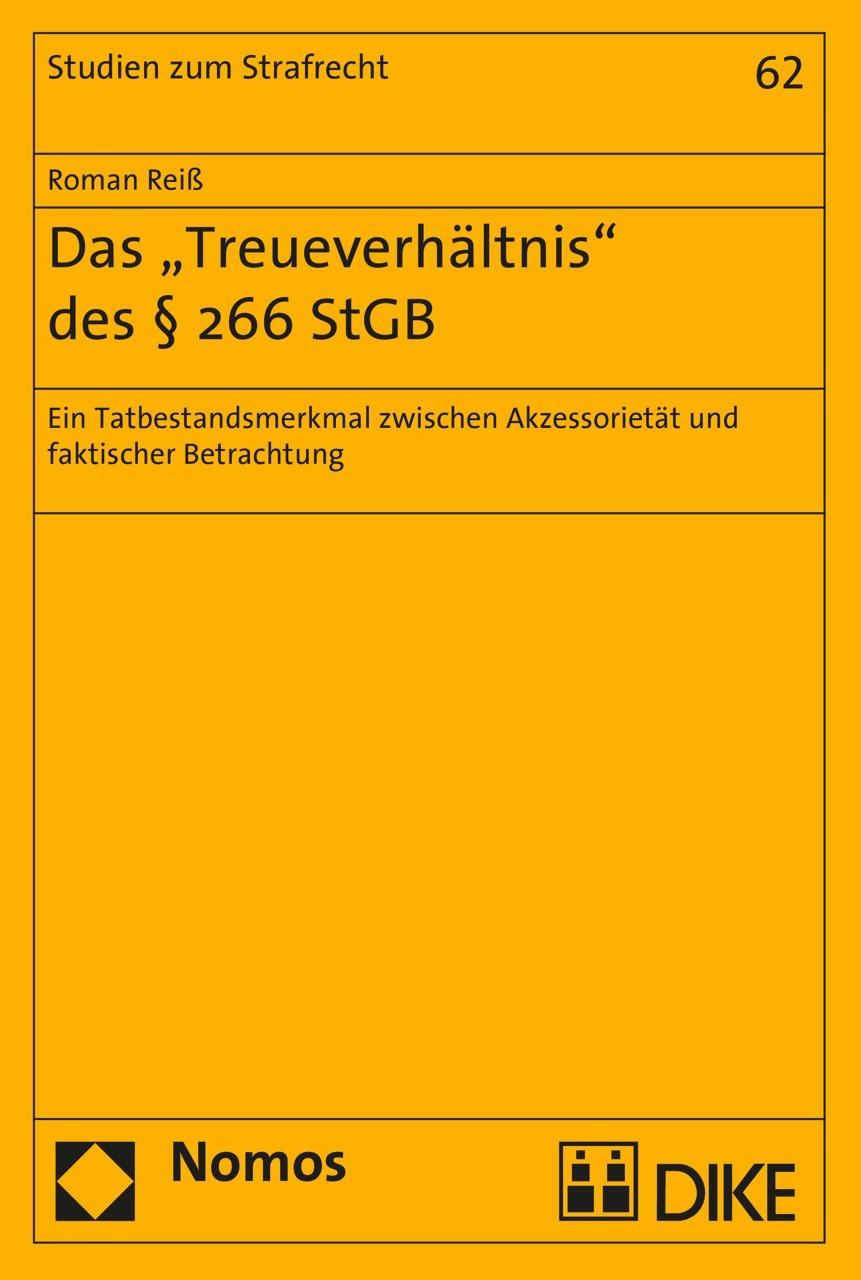 """Das """"Treueverhältnis"""" des §266 StGB"""