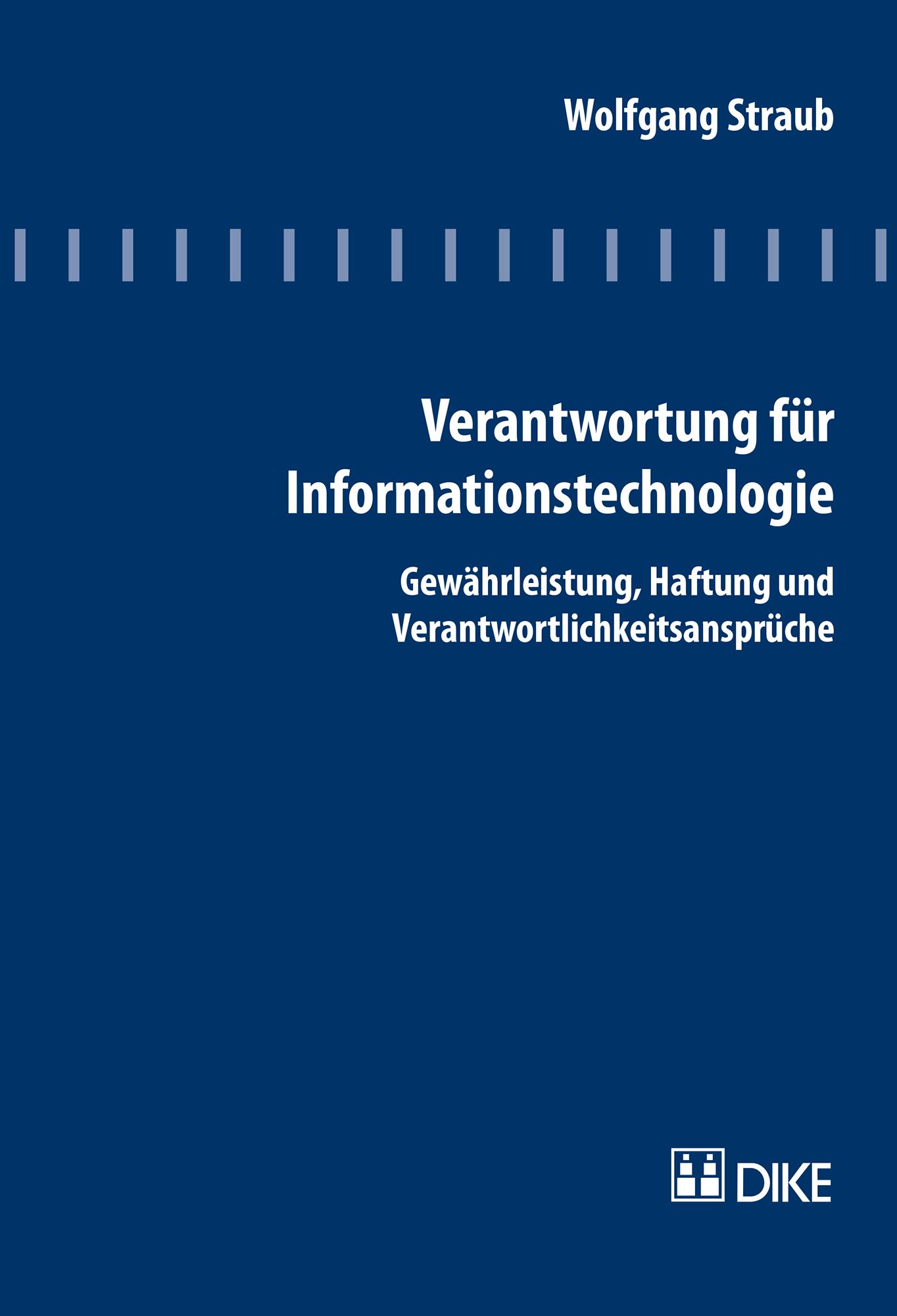 Verantwortung für Informationstechnologie