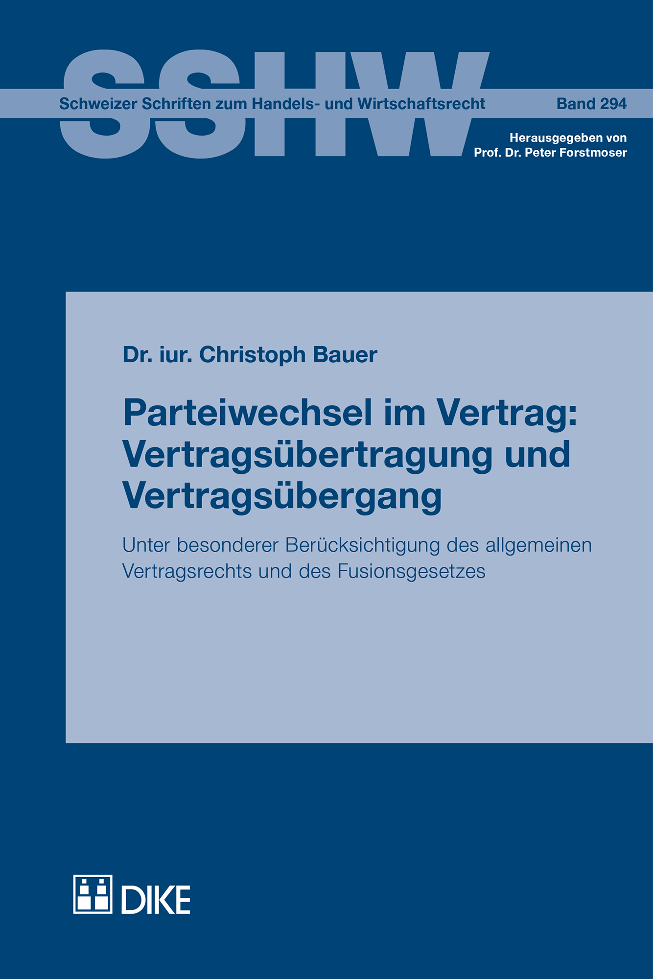 Parteiwechsel im Vertrag: Vertragsübertragung und Vertragsübergang