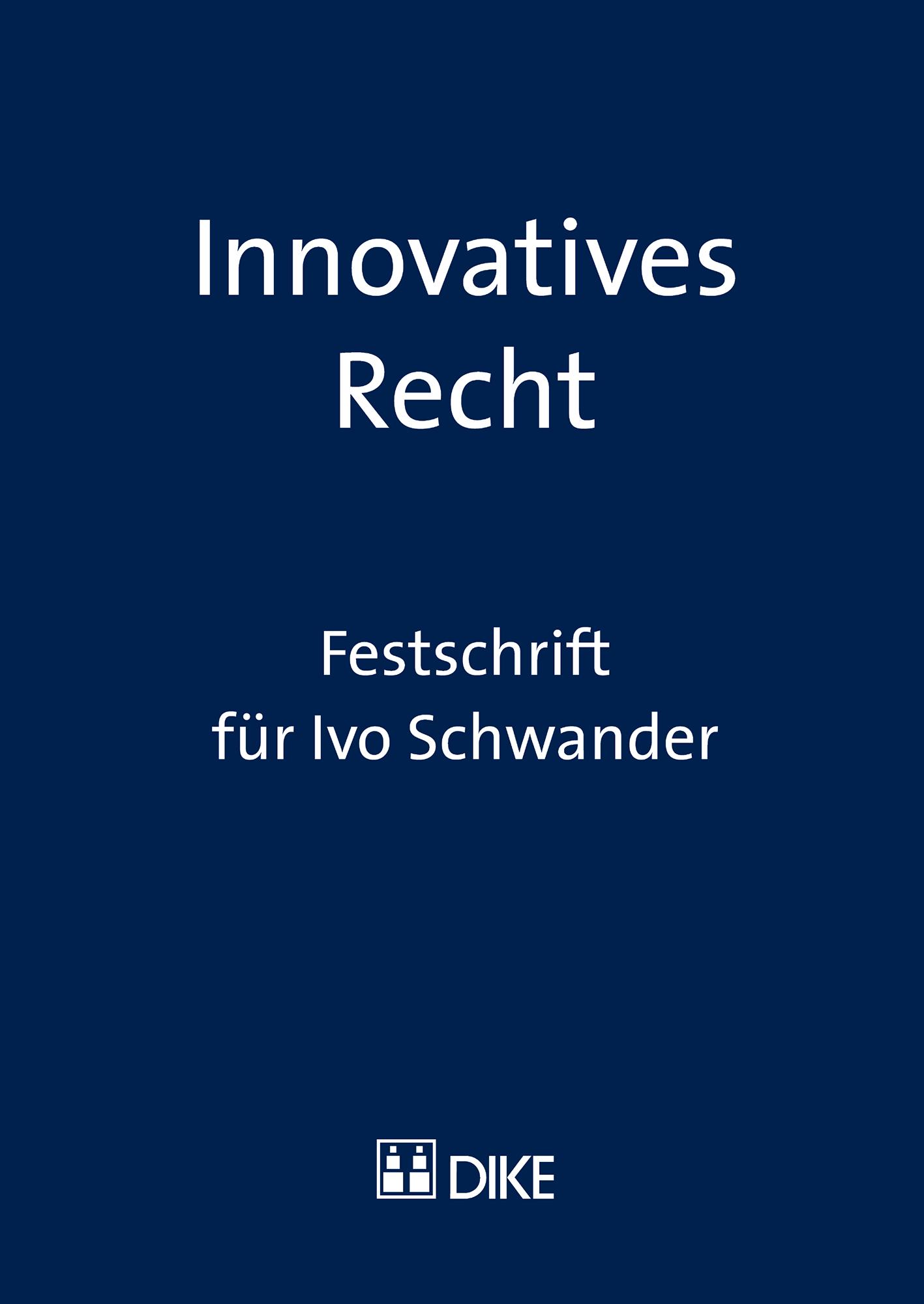 Innovatives Recht