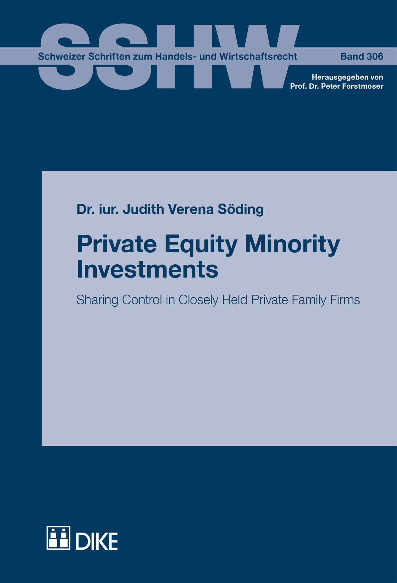 Private Equity Minority Investments