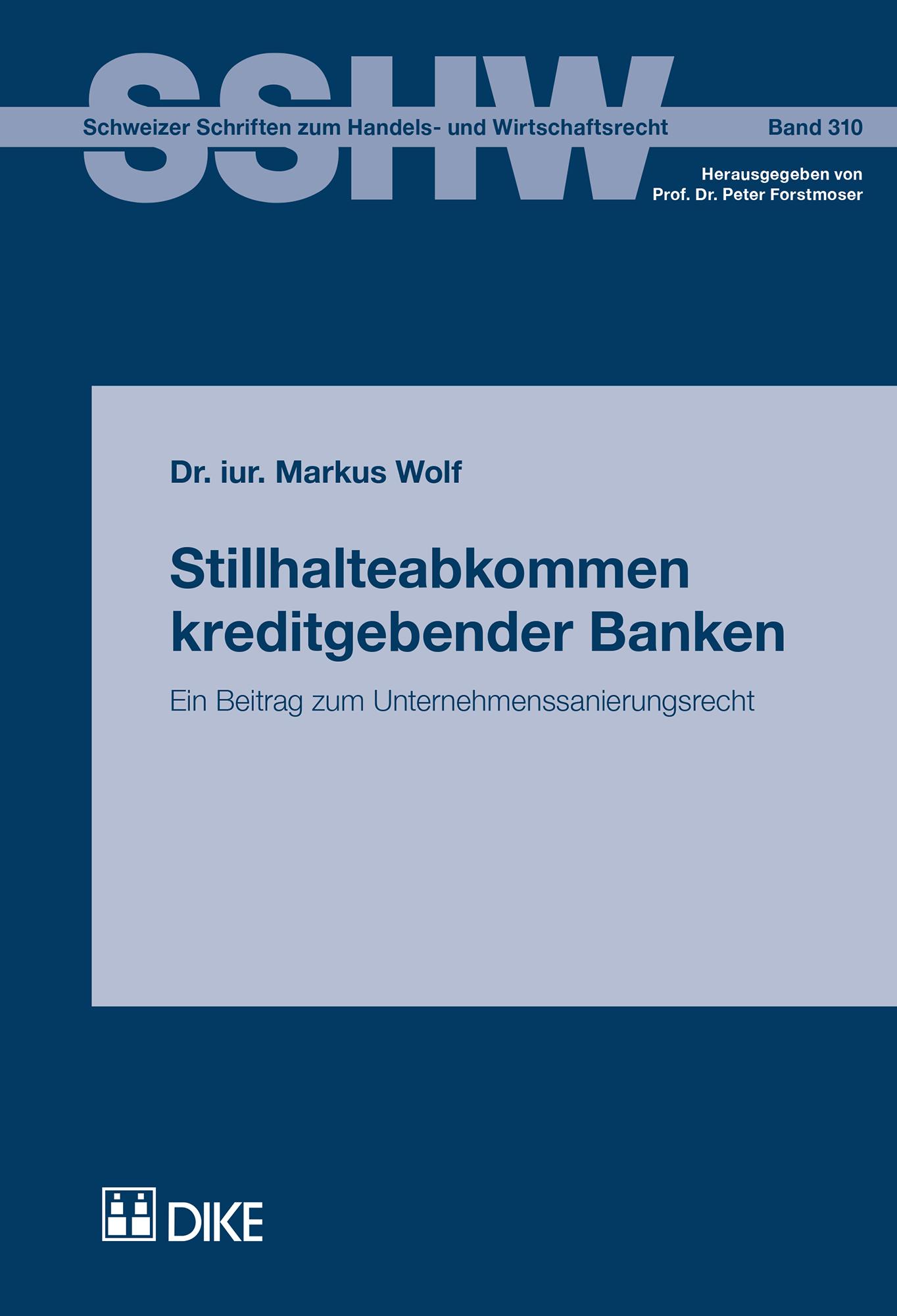 Stillhalteabkommen  kreditgebender Banken