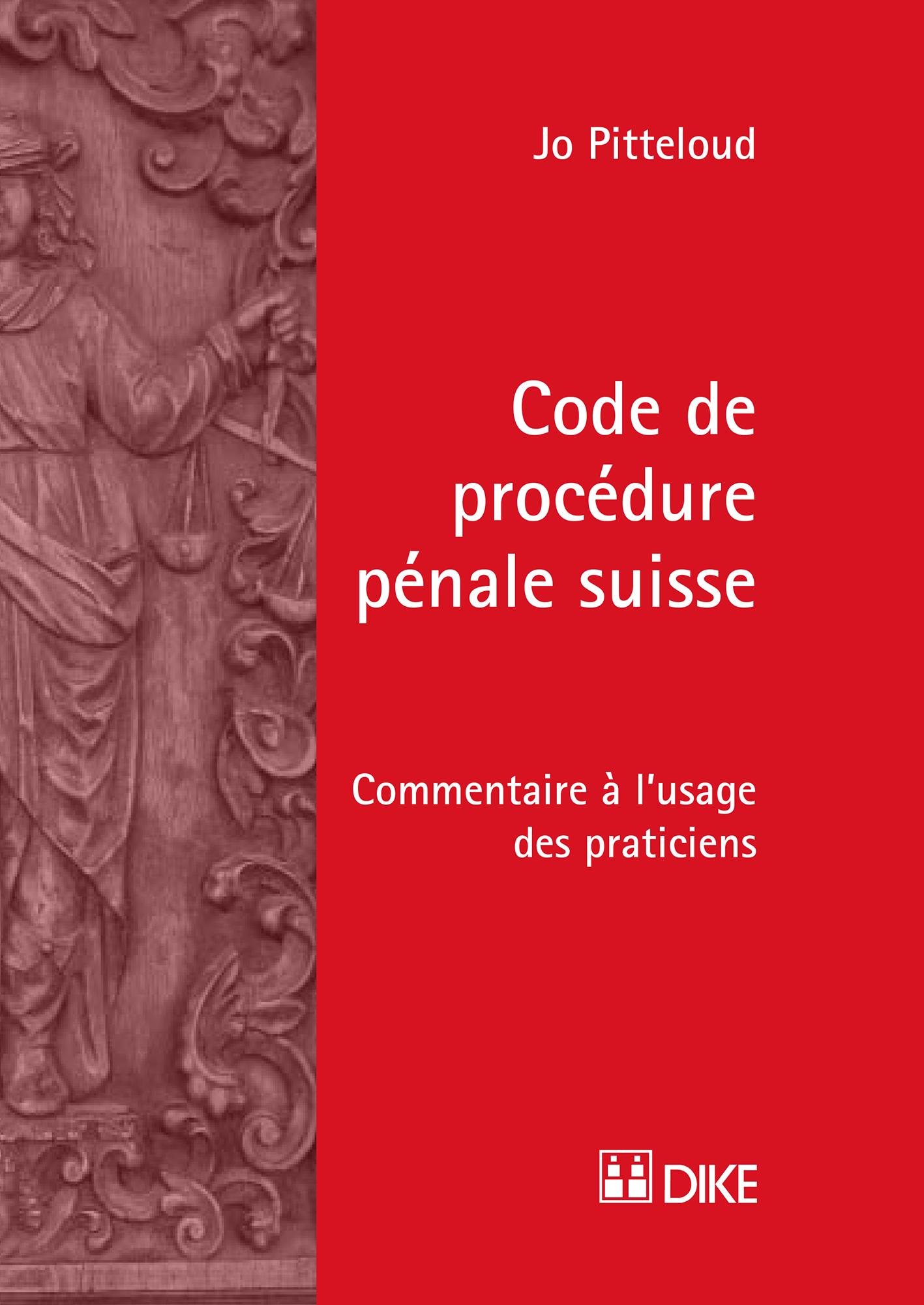 Code de procédure pénale suisse