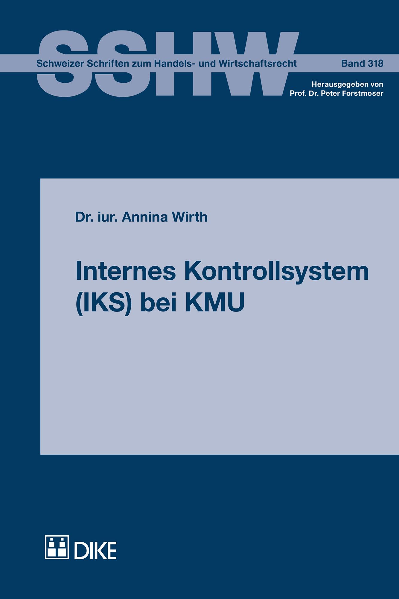 Internes Kontrollsystem (IKS) bei KMU