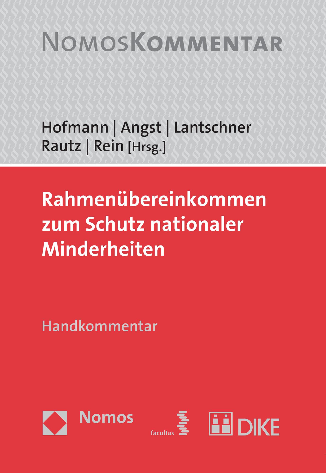 Rahmenübereinkommen zum Schutz nationaler Minderheiten