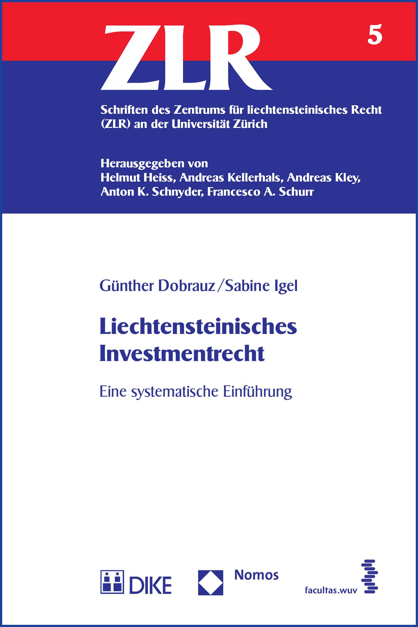 Liechtensteinisches Investmentrecht