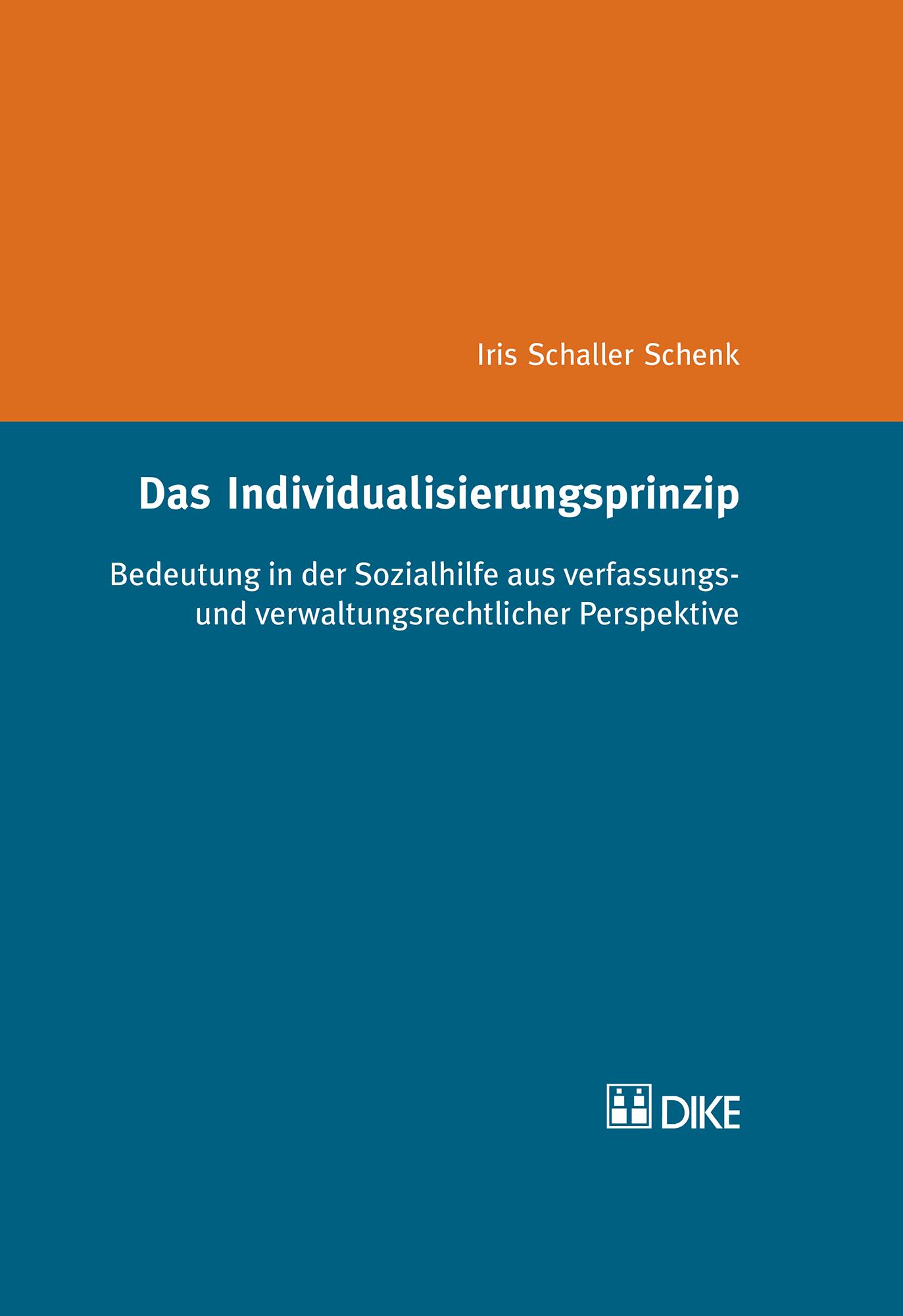 Das Individualisierungsprinzip