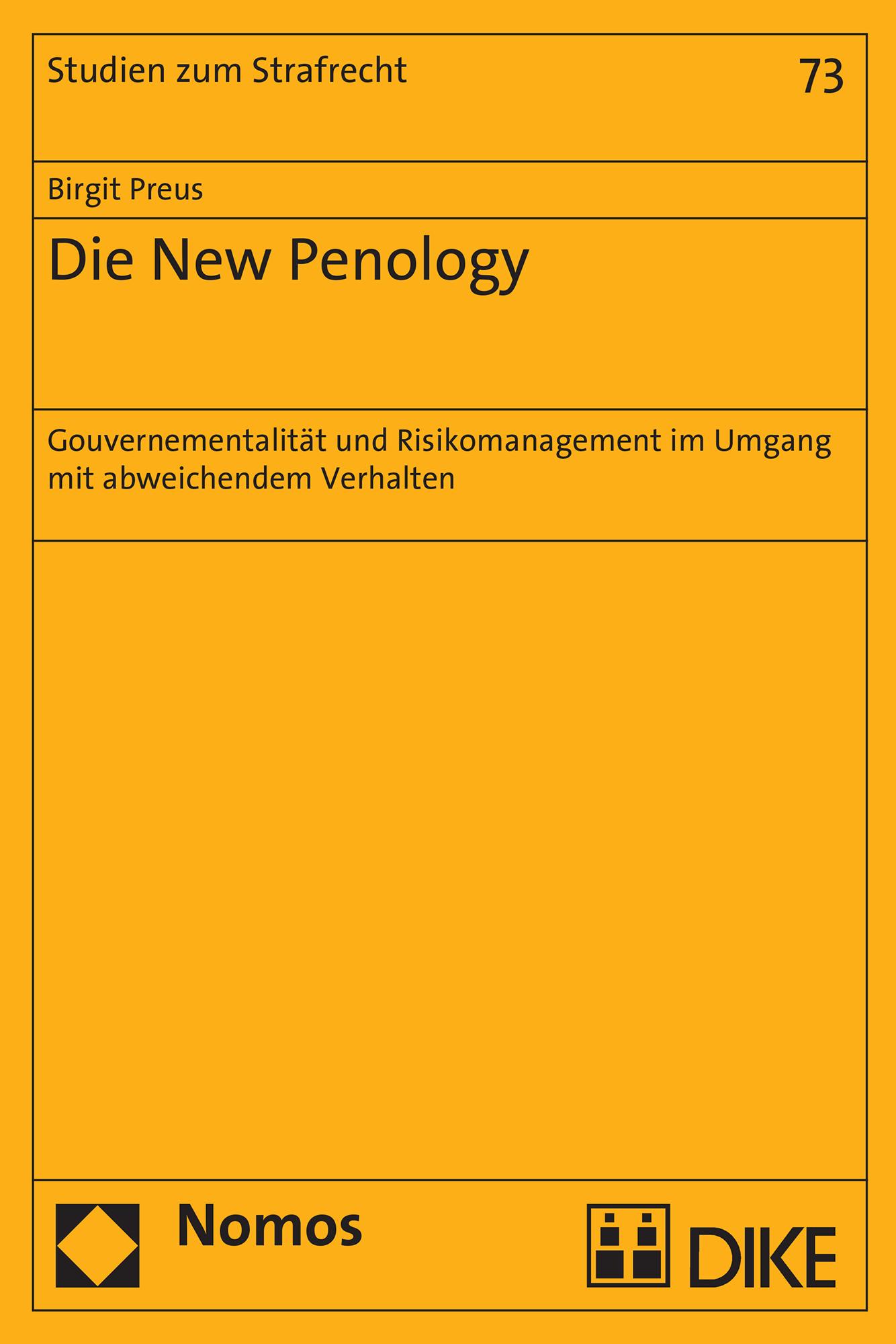 Die New Penology