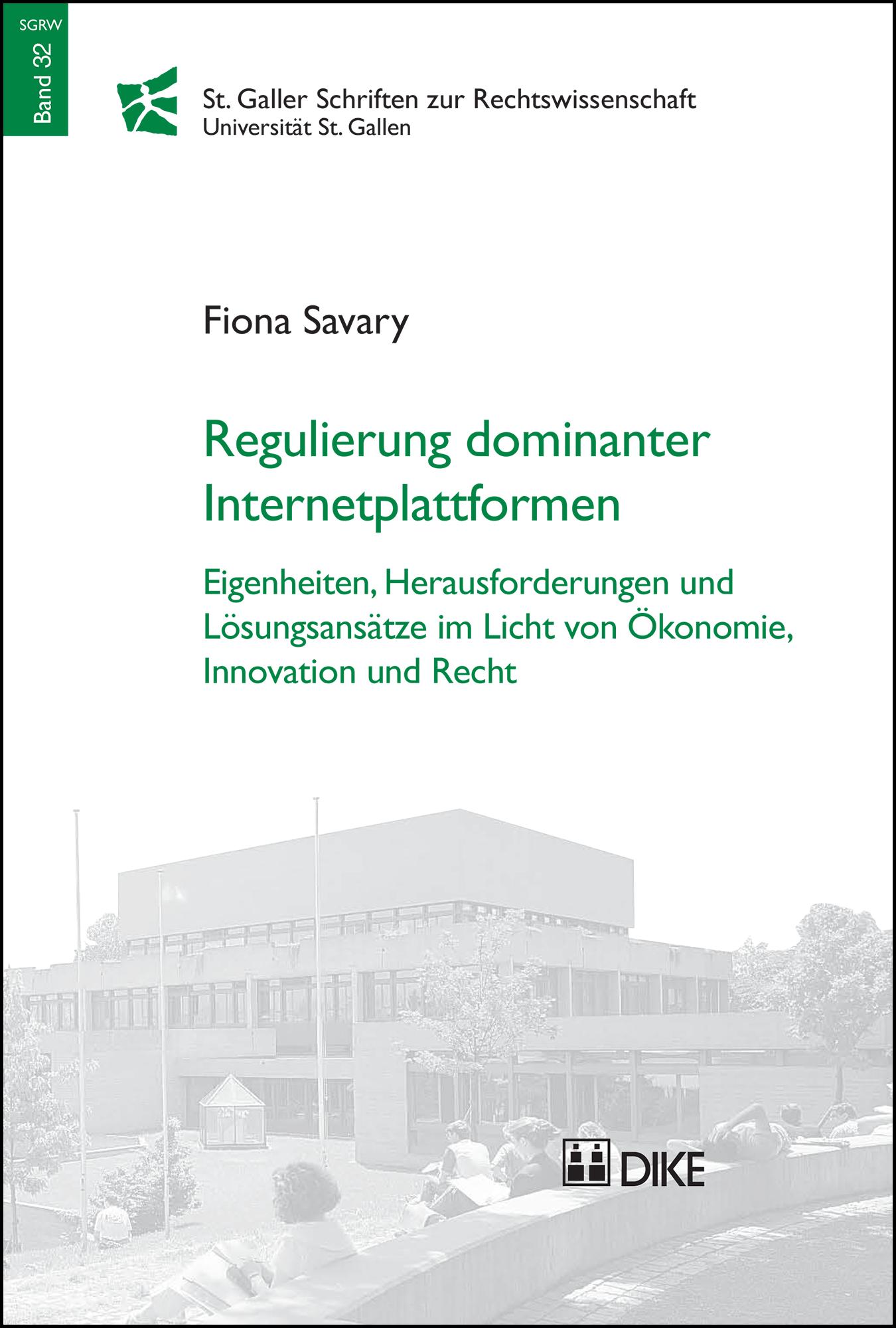 Regulierung dominanter Internetplattformen