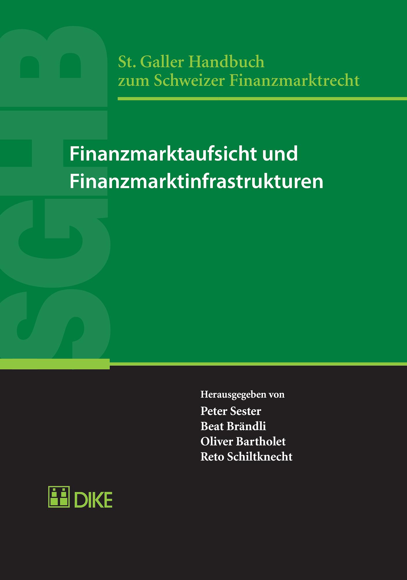 Finanzmarktaufsicht und Finanzmarktinfrastrukturen