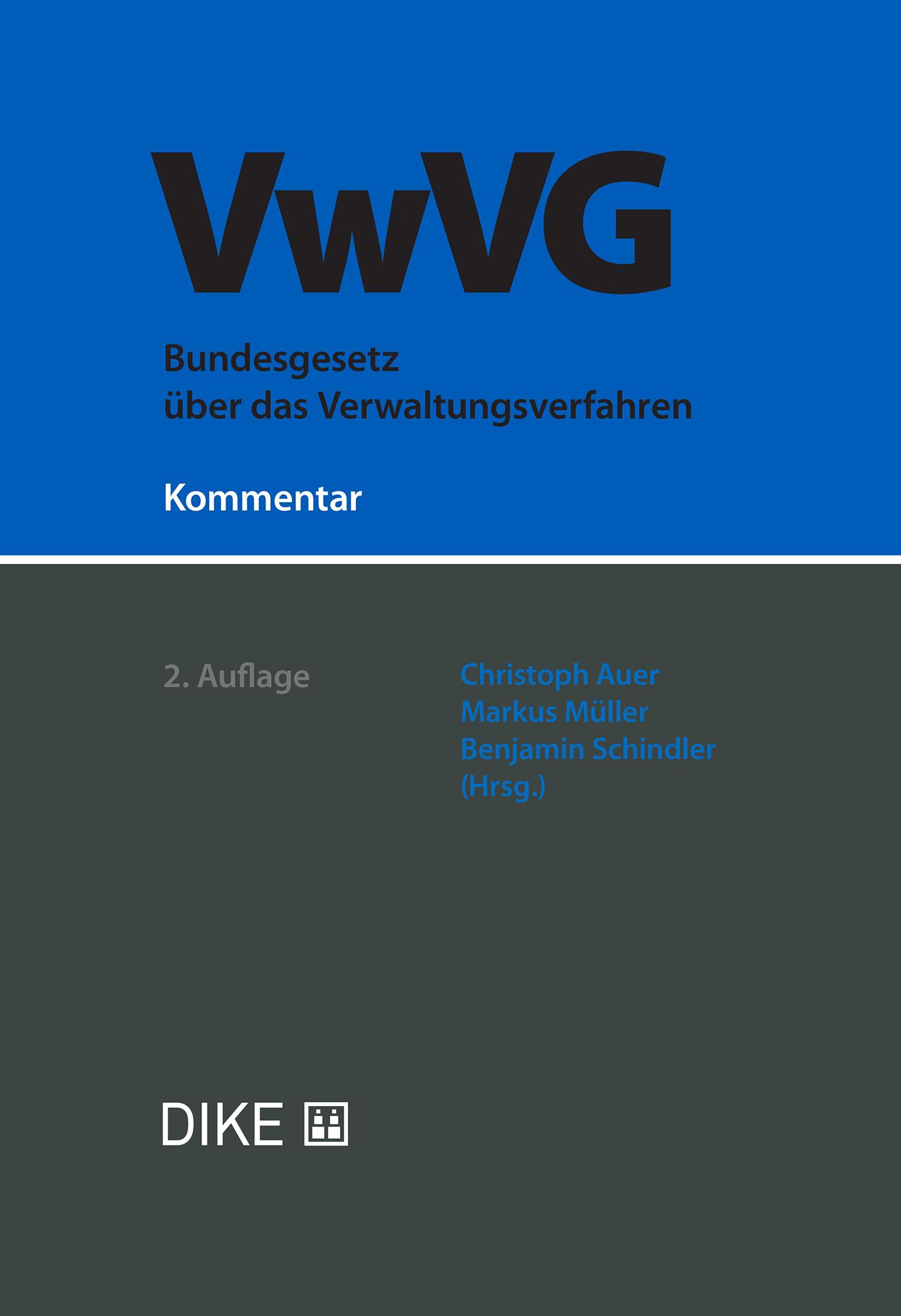 Bundesgesetz über das Verwaltungsverfahren (VwVG)