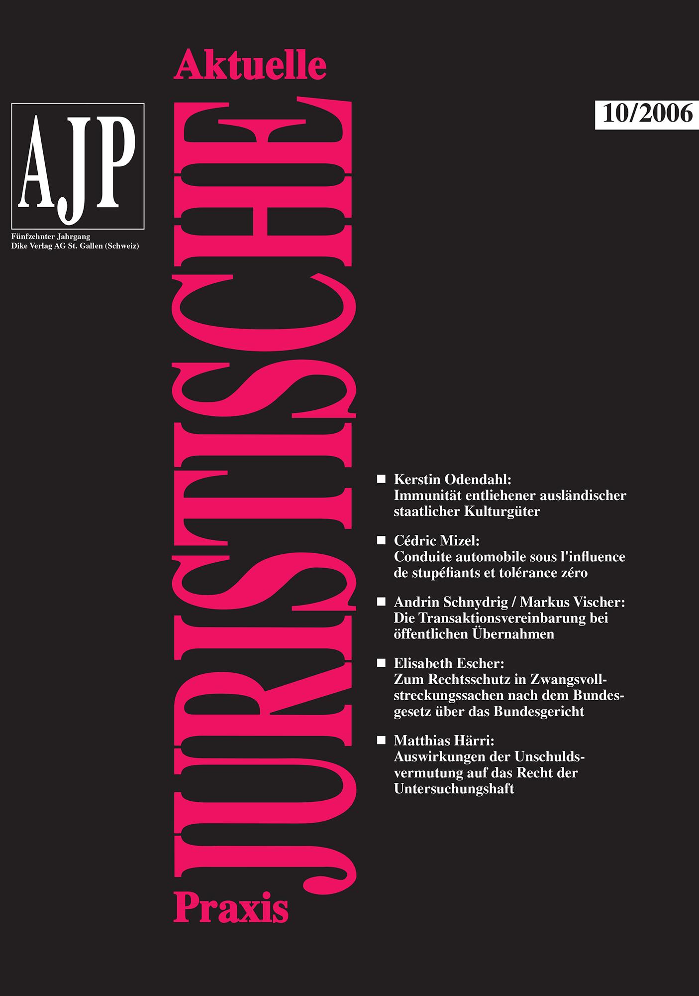 AJP/PJA 10/2006