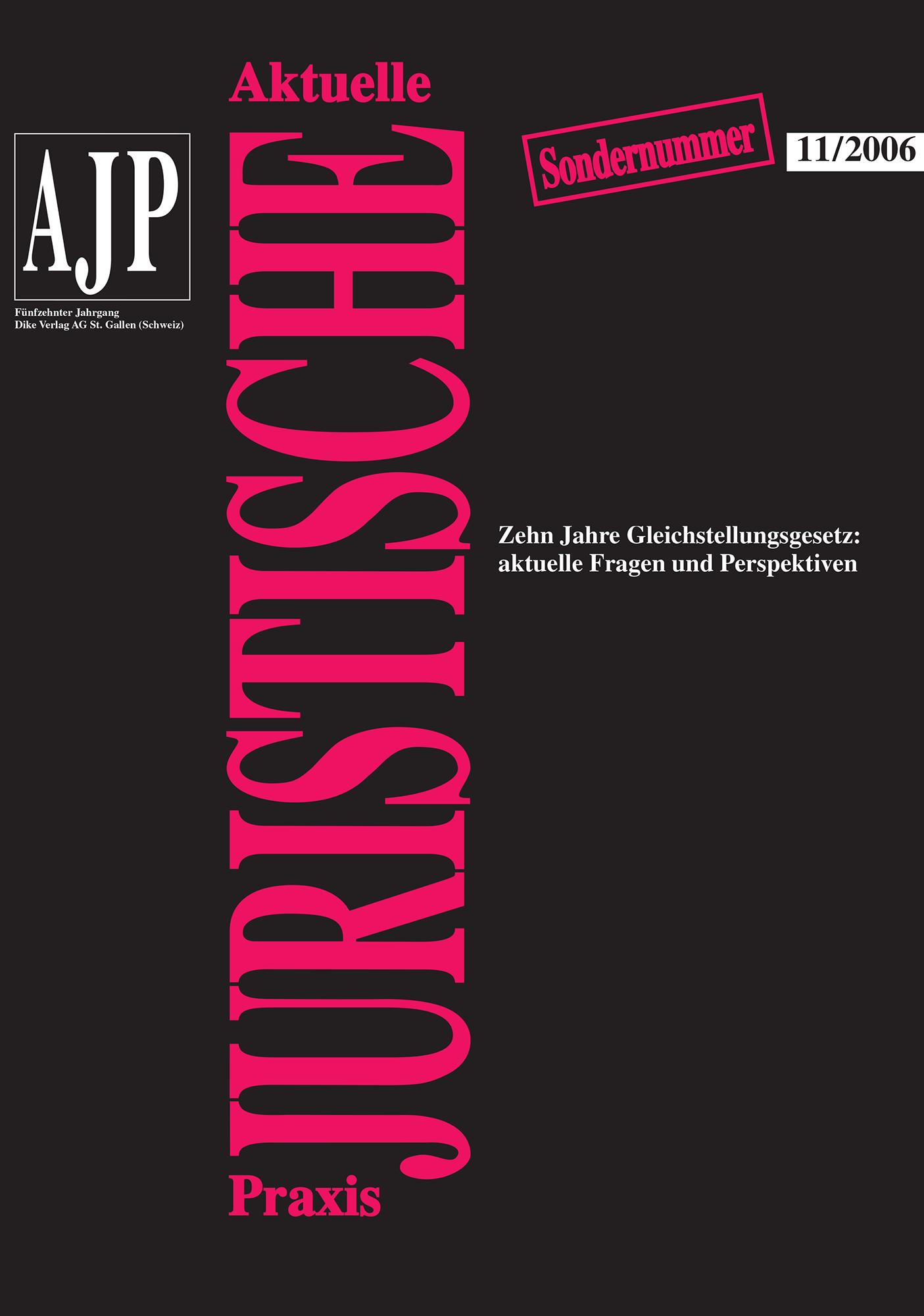 AJP/PJA 11/2006