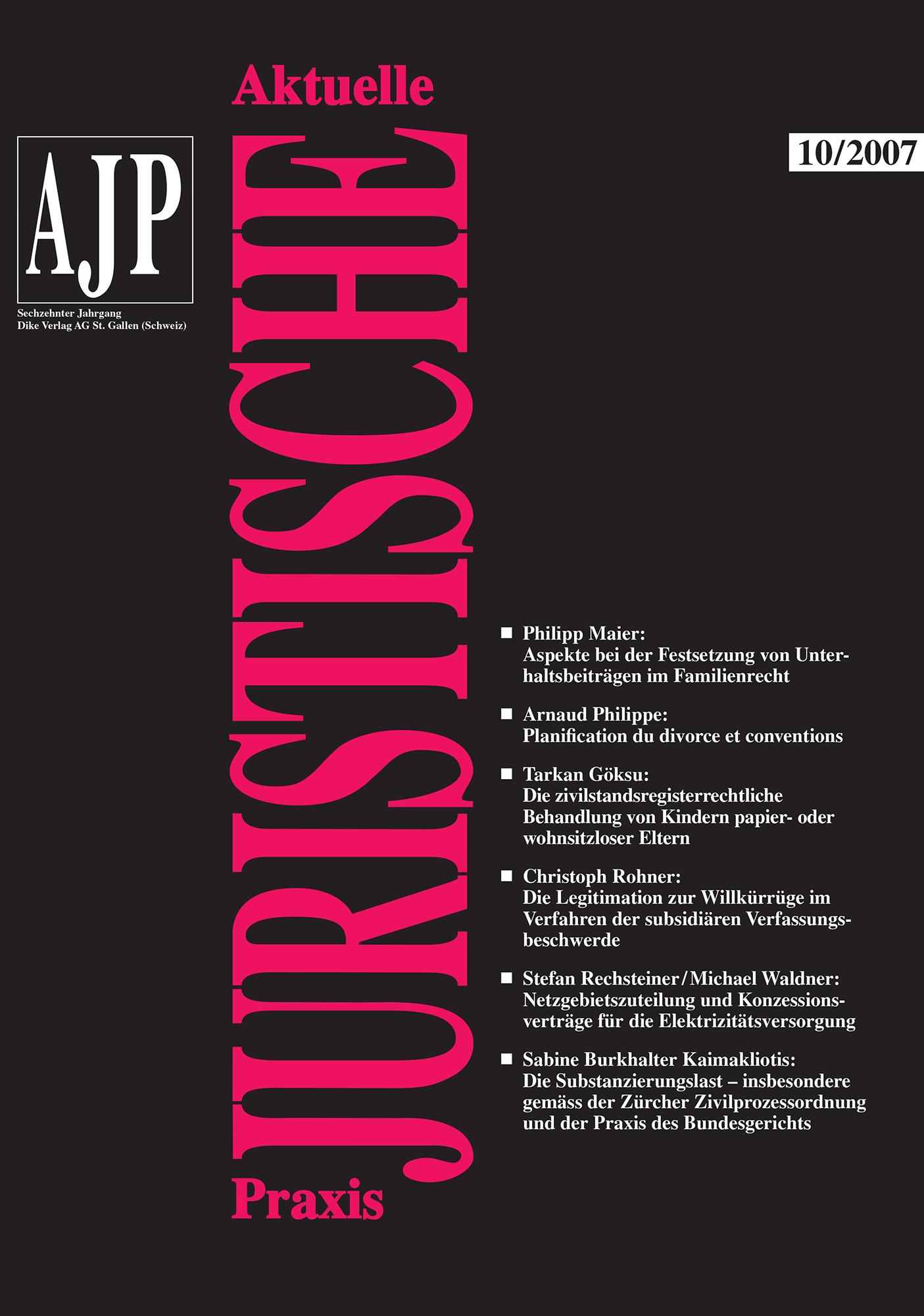 AJP/PJA 10/2007