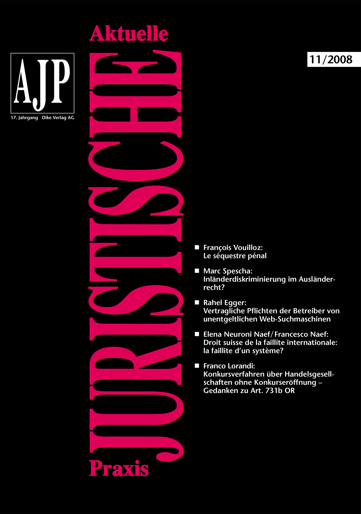 AJP/PJA 11/2008