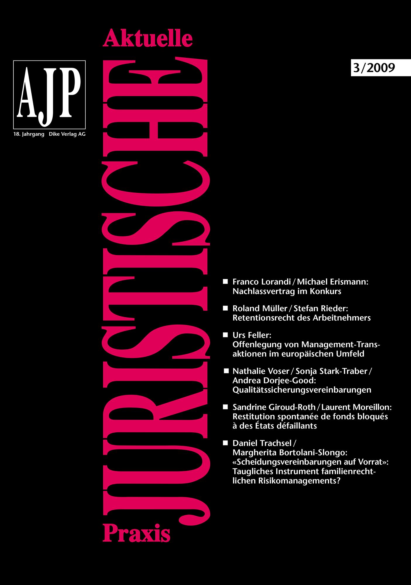 AJP/PJA 03/2009