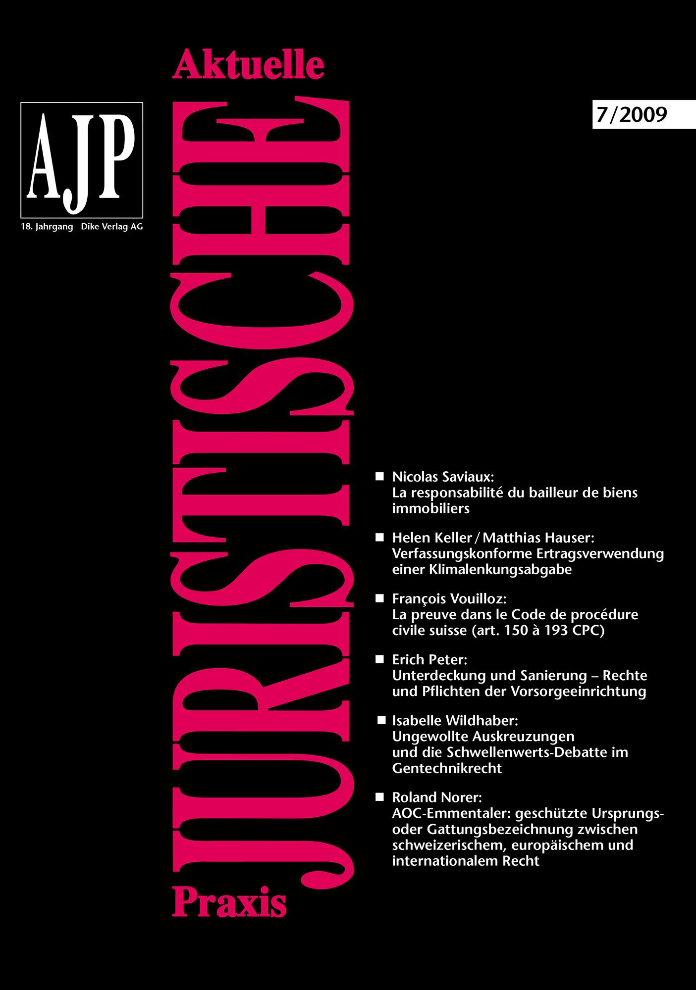 AJP/PJA 07/2009