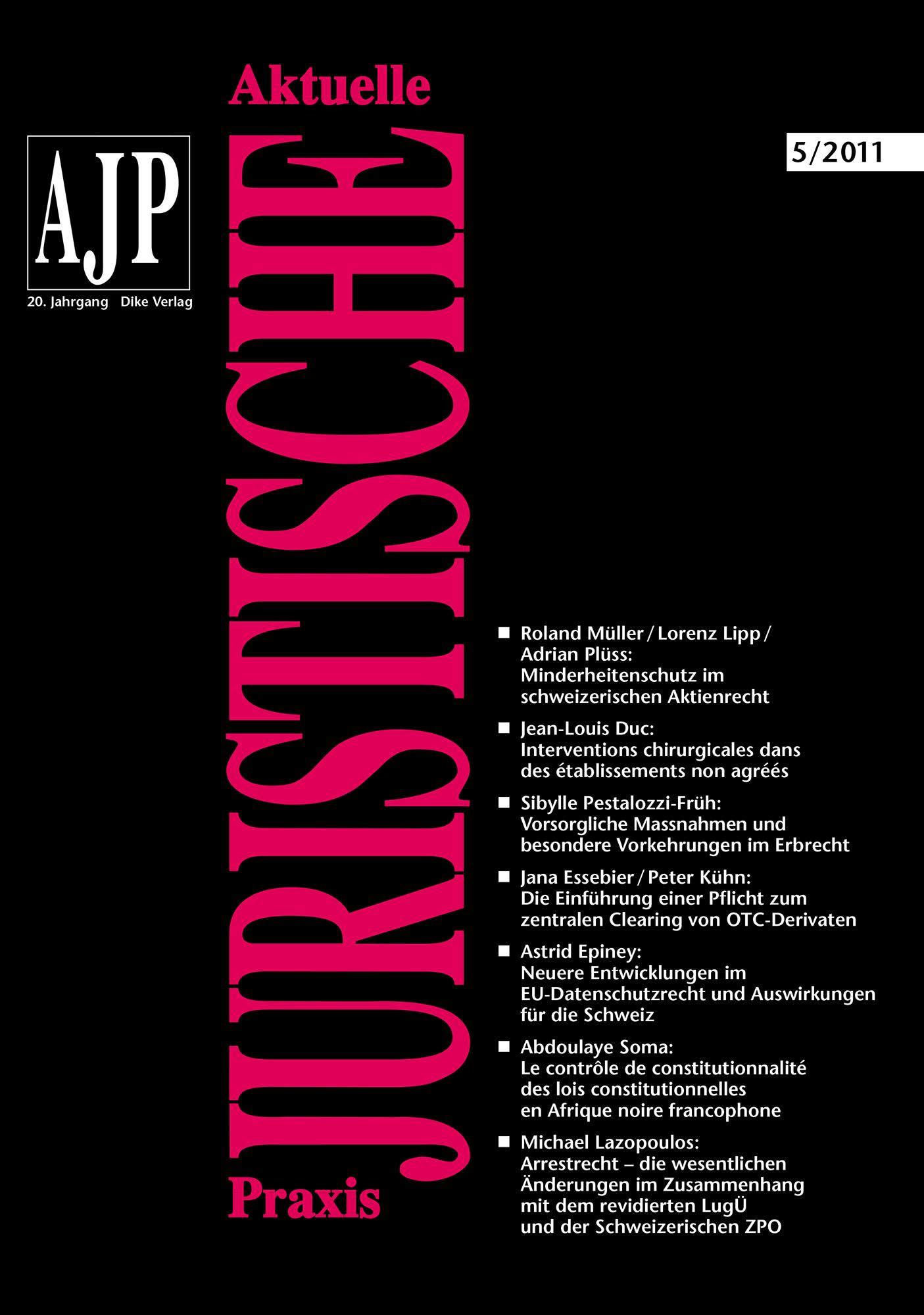 AJP/PJA 05/2011
