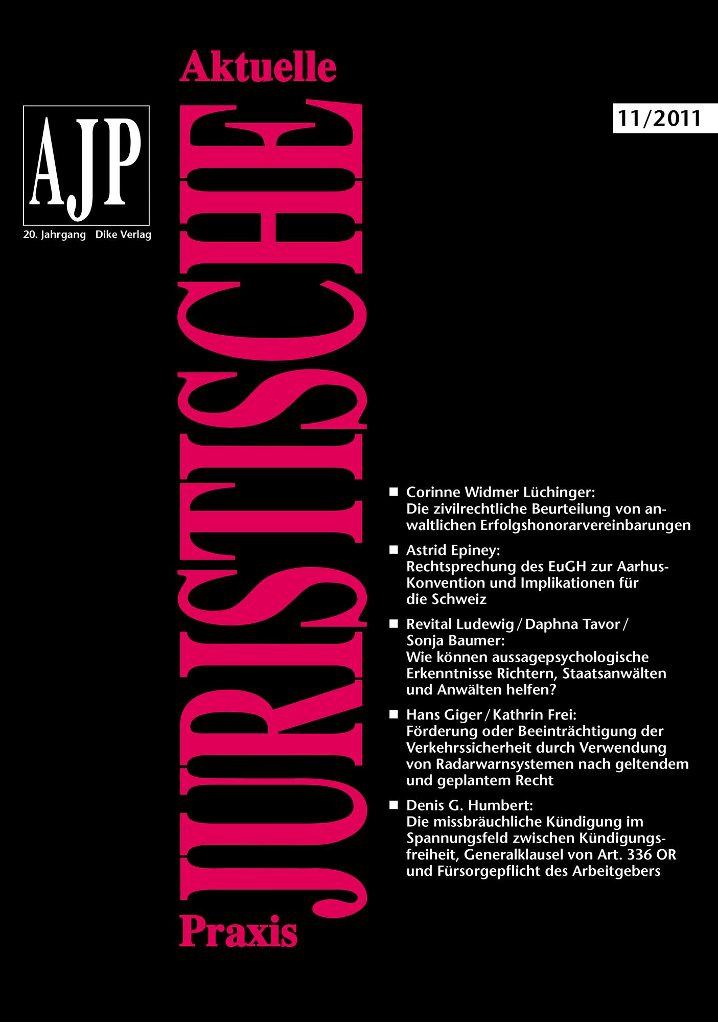 AJP/PJA 11/2011