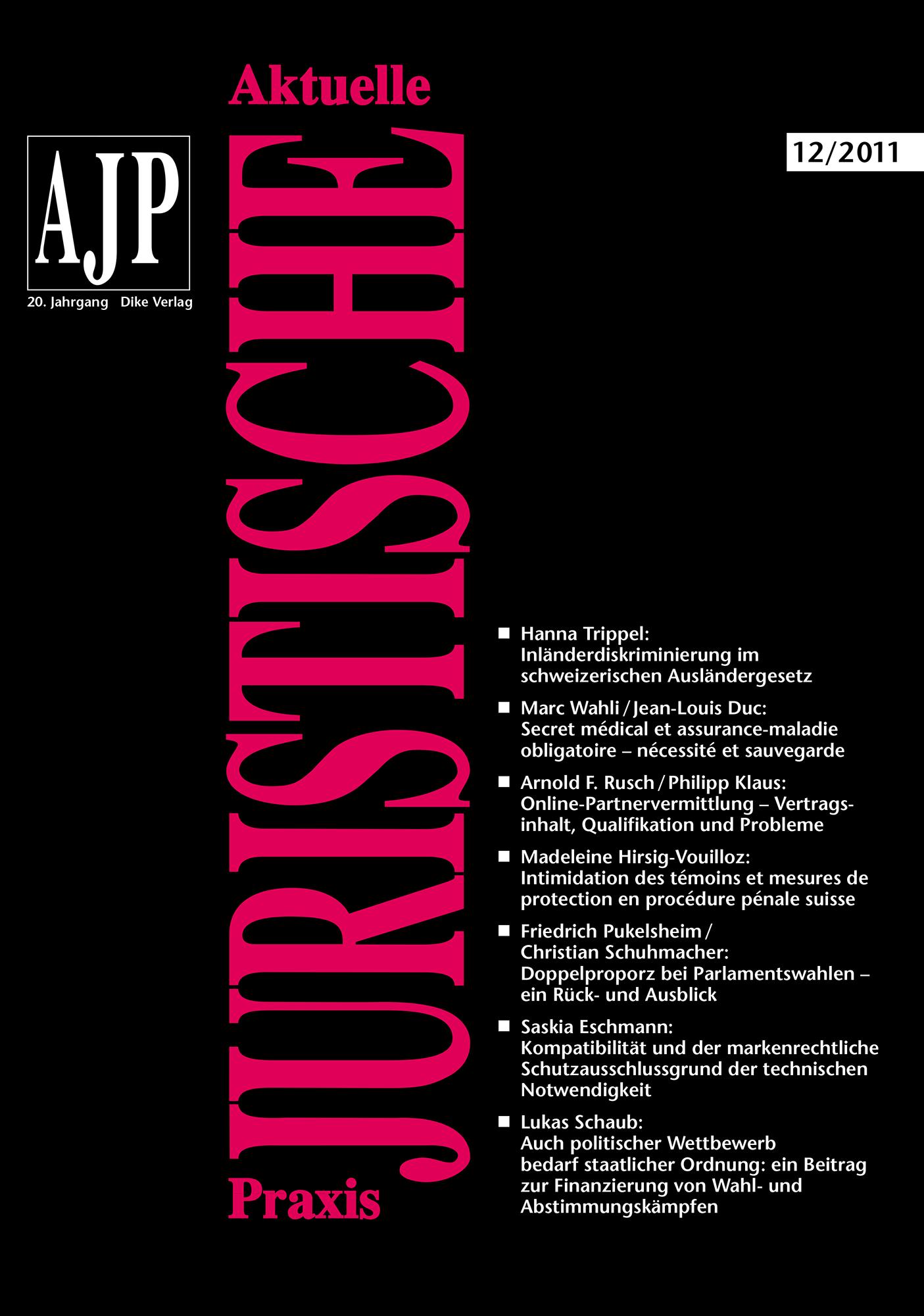 AJP/PJA 12/2011