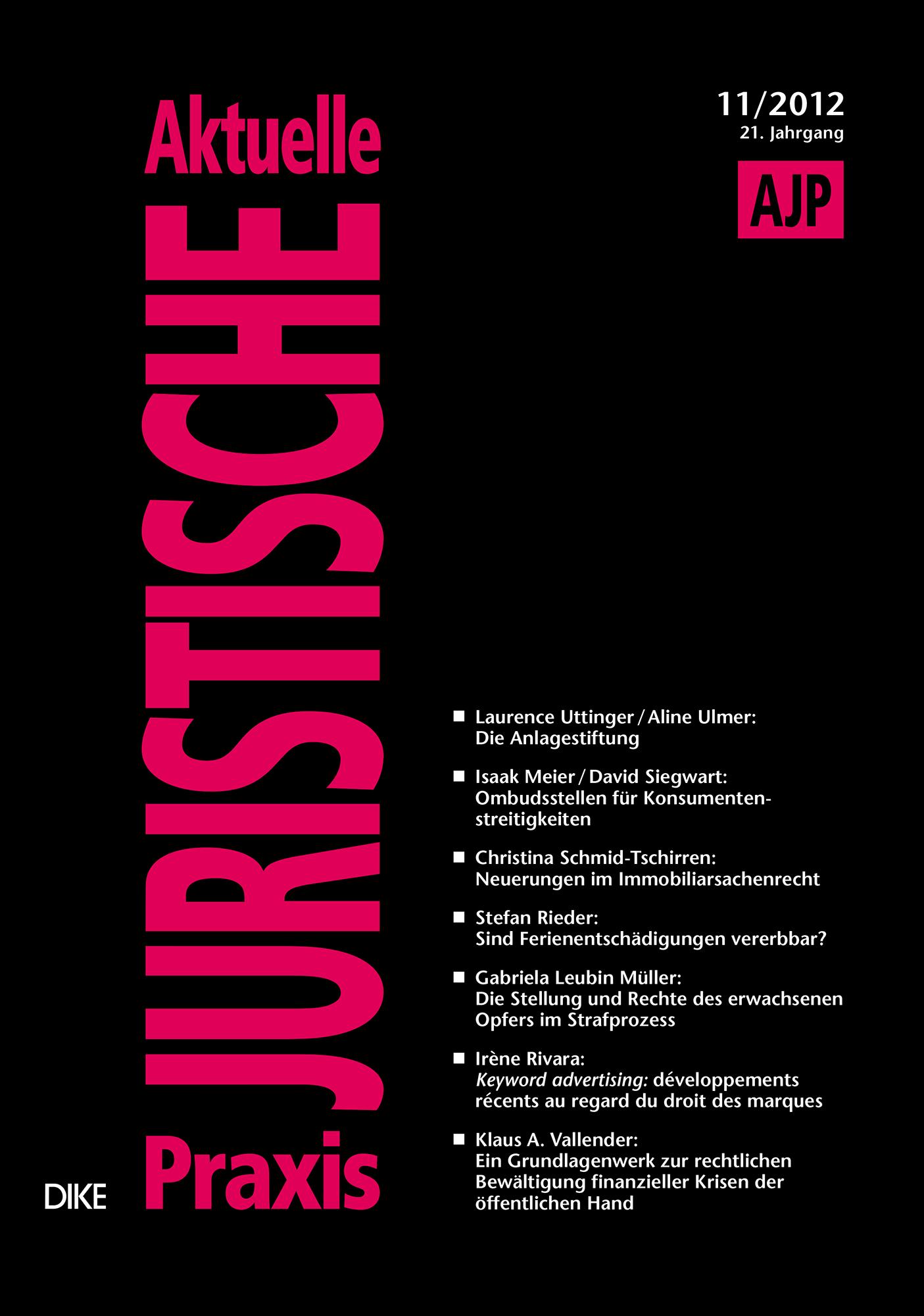 AJP/PJA 11/2012