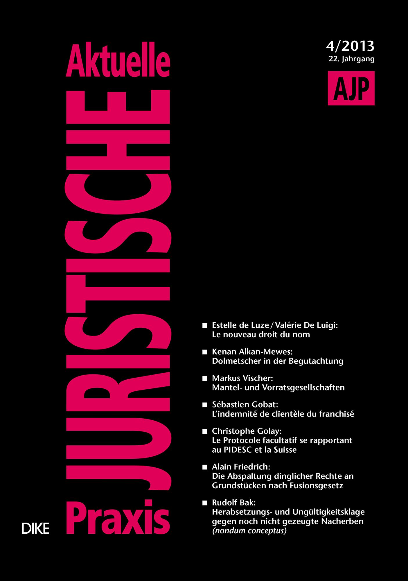 AJP/PJA 04/2013