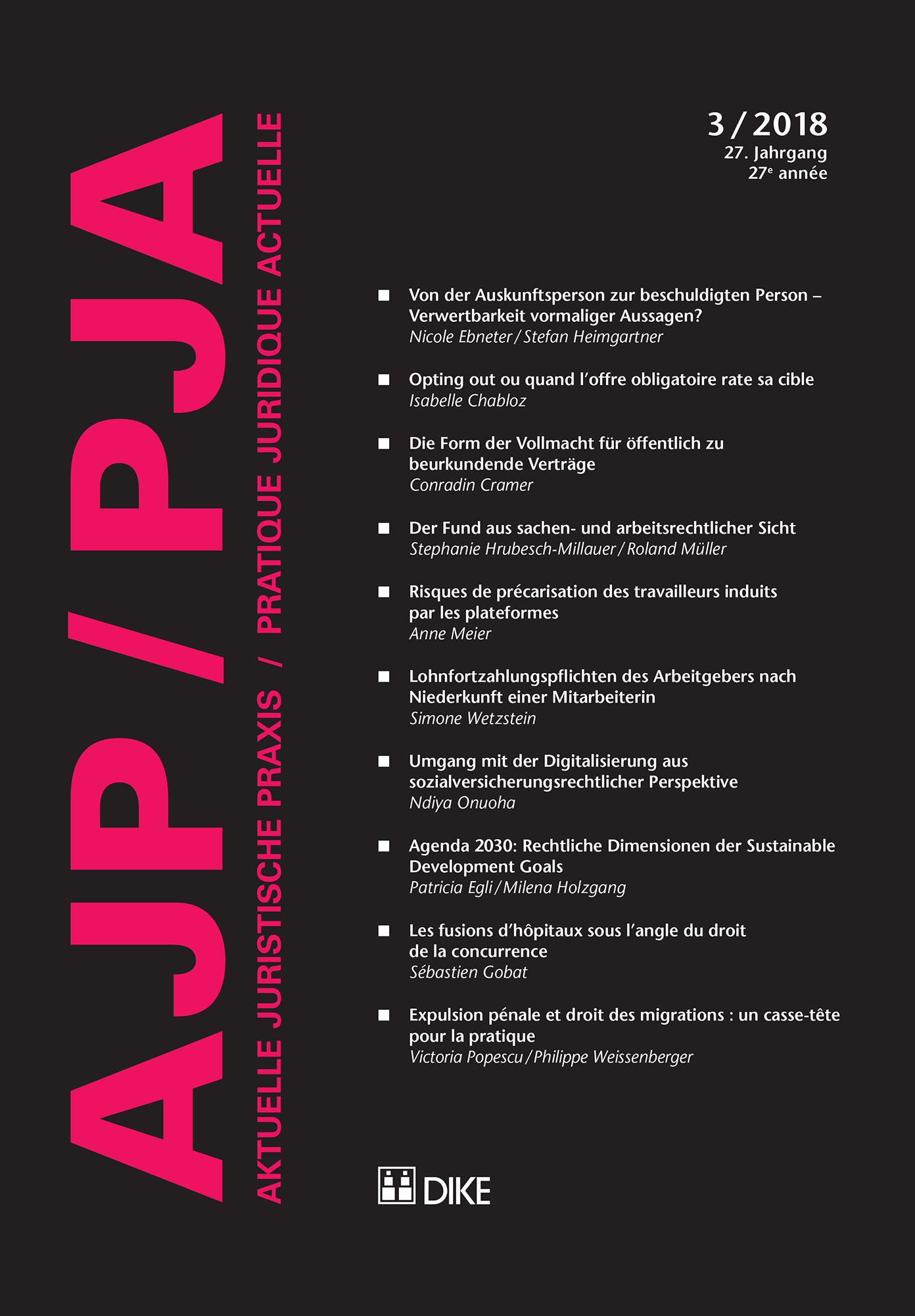 AJP/PJA 3/2018