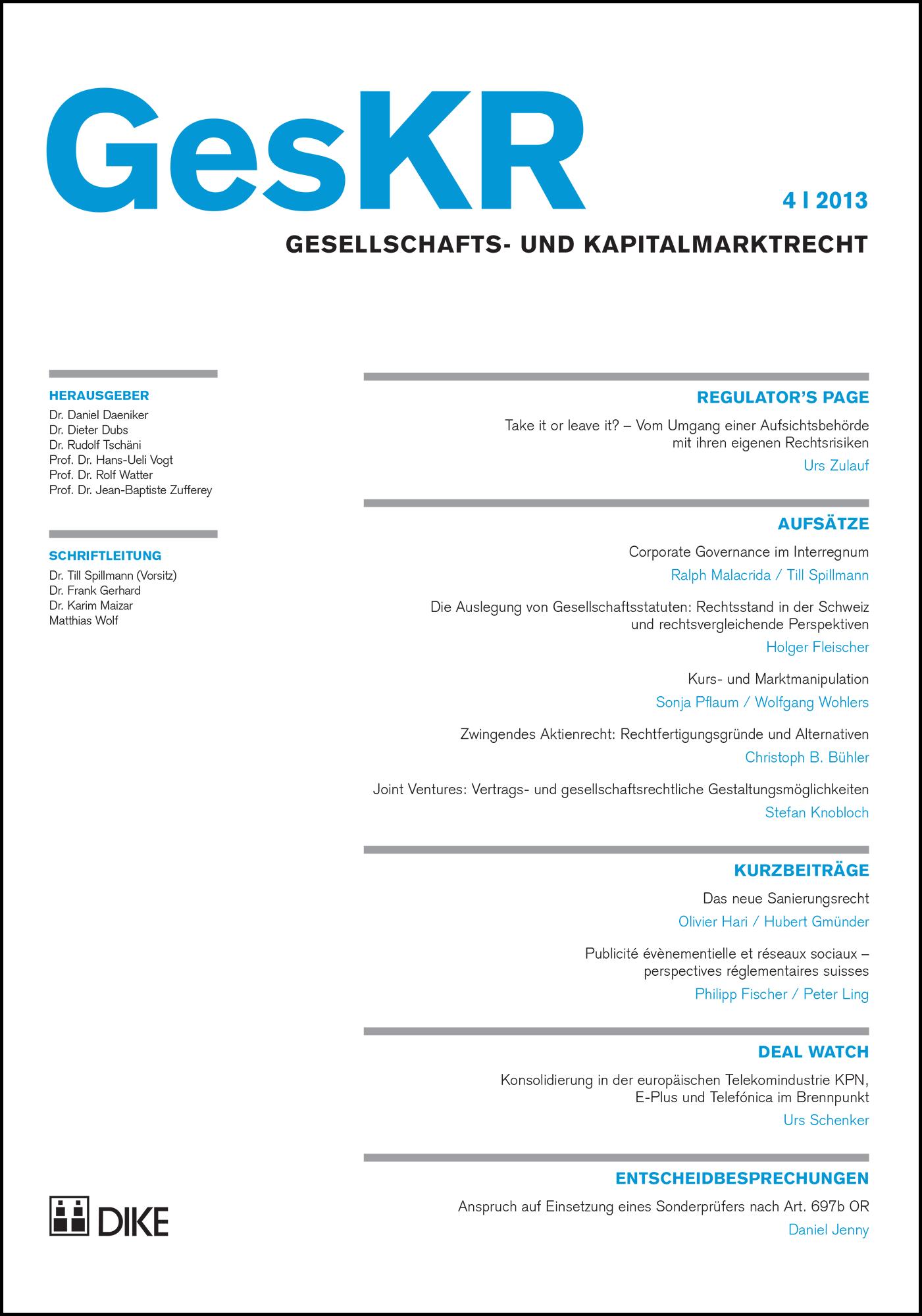 GesKR 04/2013