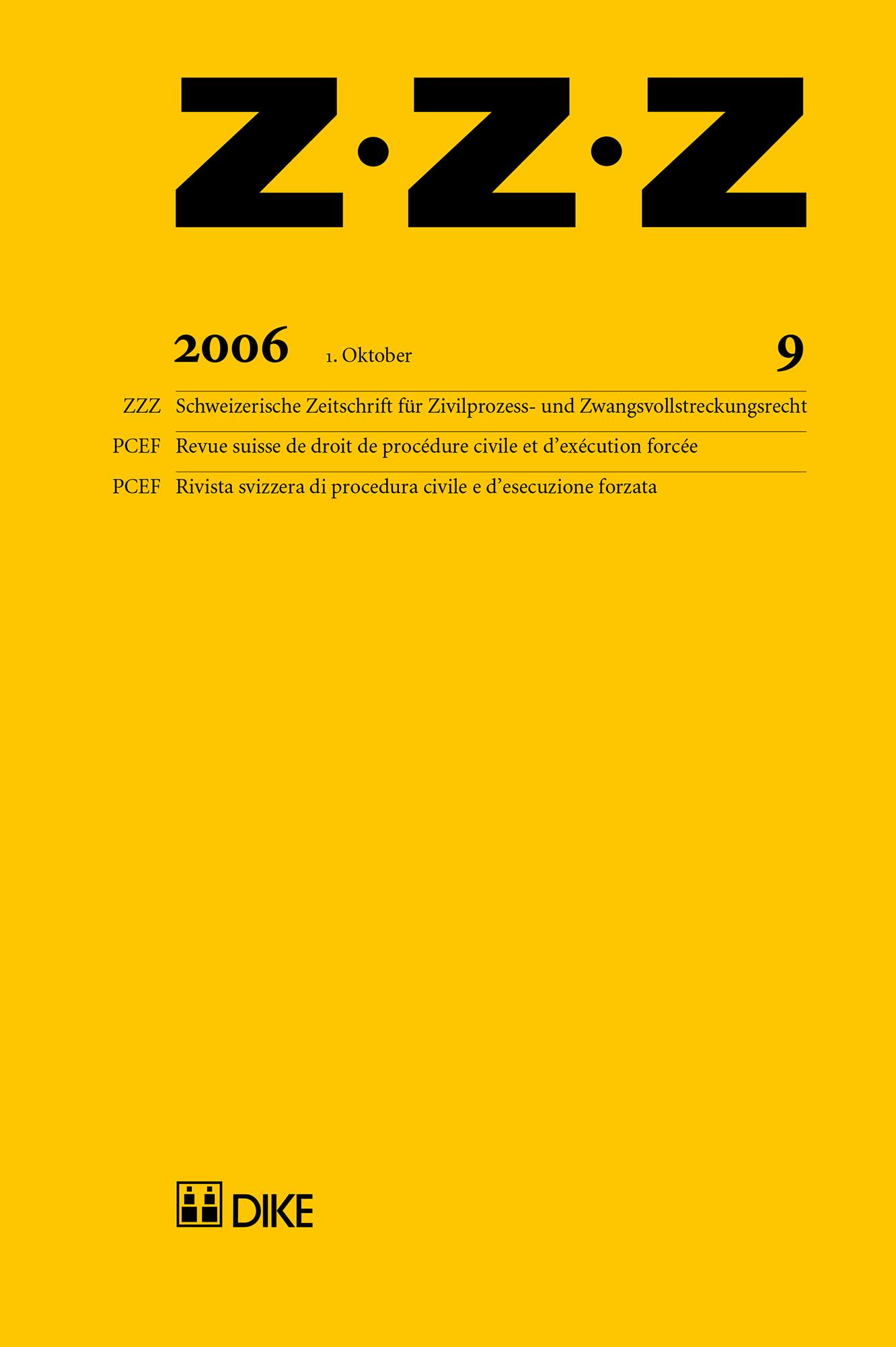 ZZZ 2006 Heft 9
