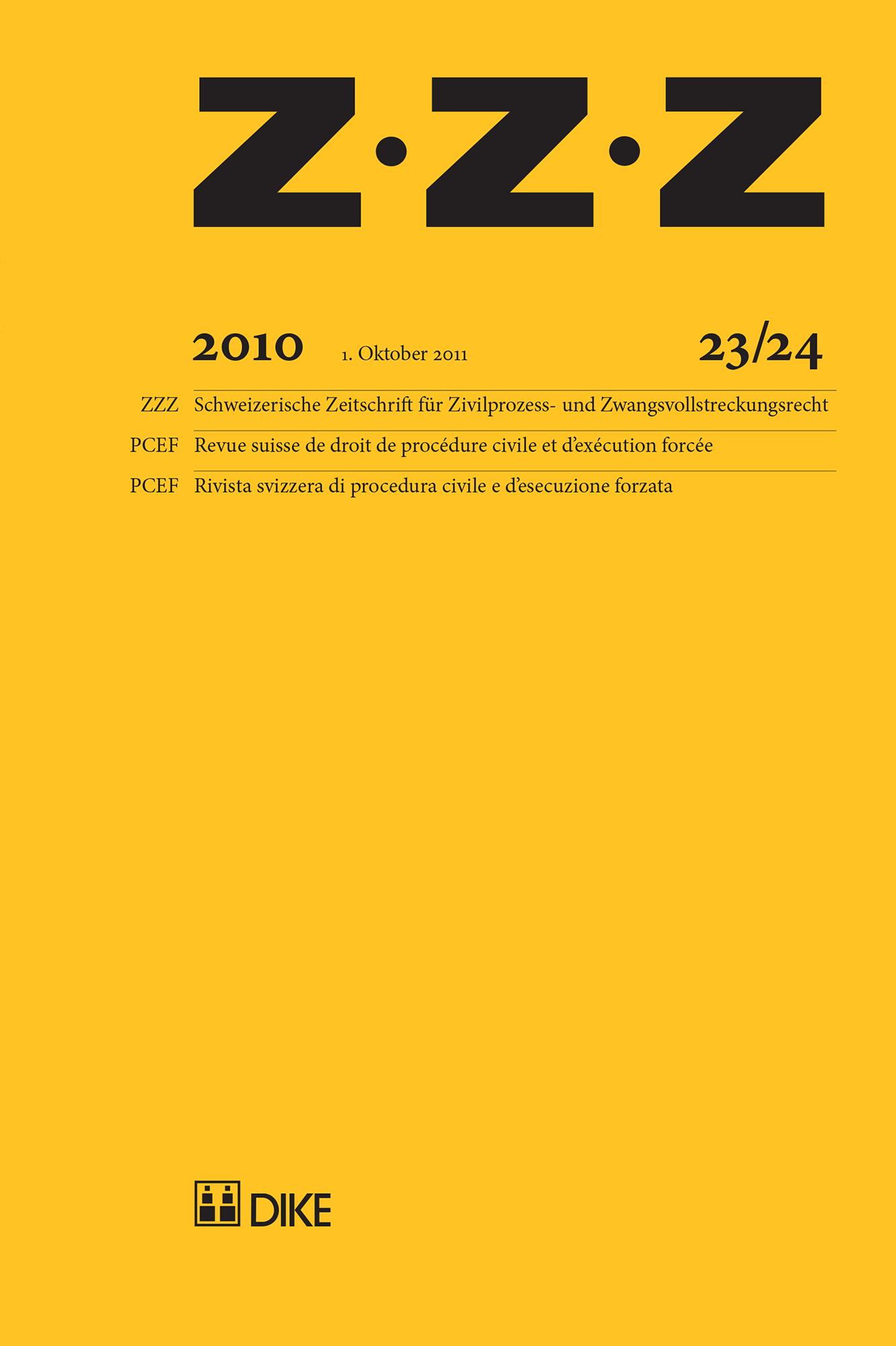 ZZZ 2010 Heft 23/24