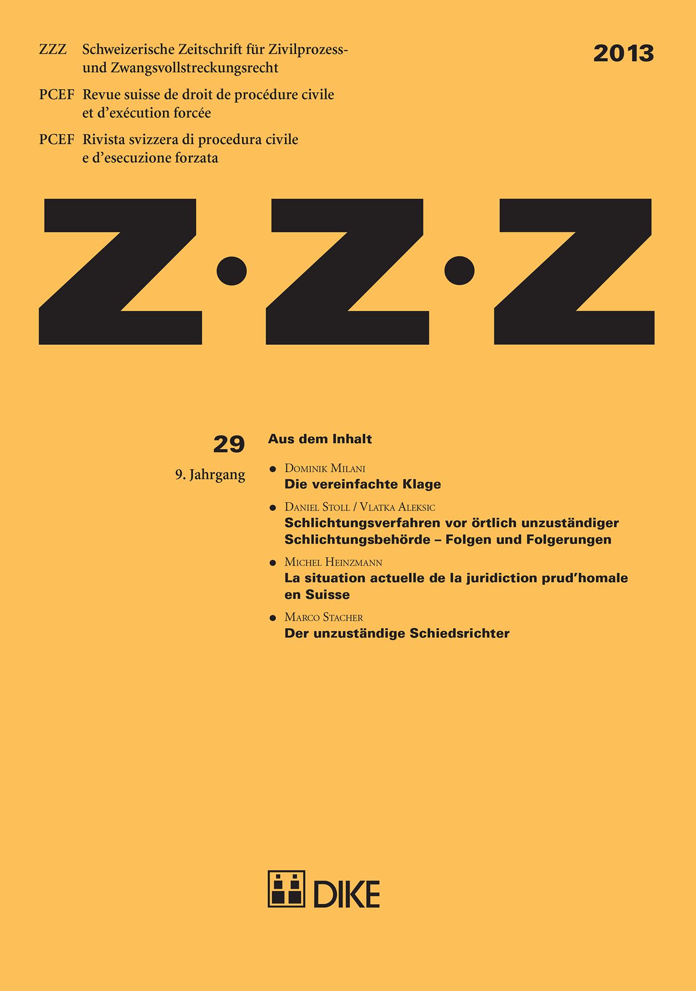 ZZZ 2013 Heft 29