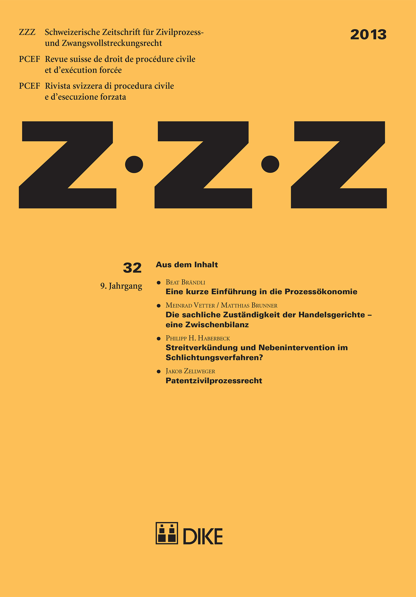 ZZZ 2013 Heft 32