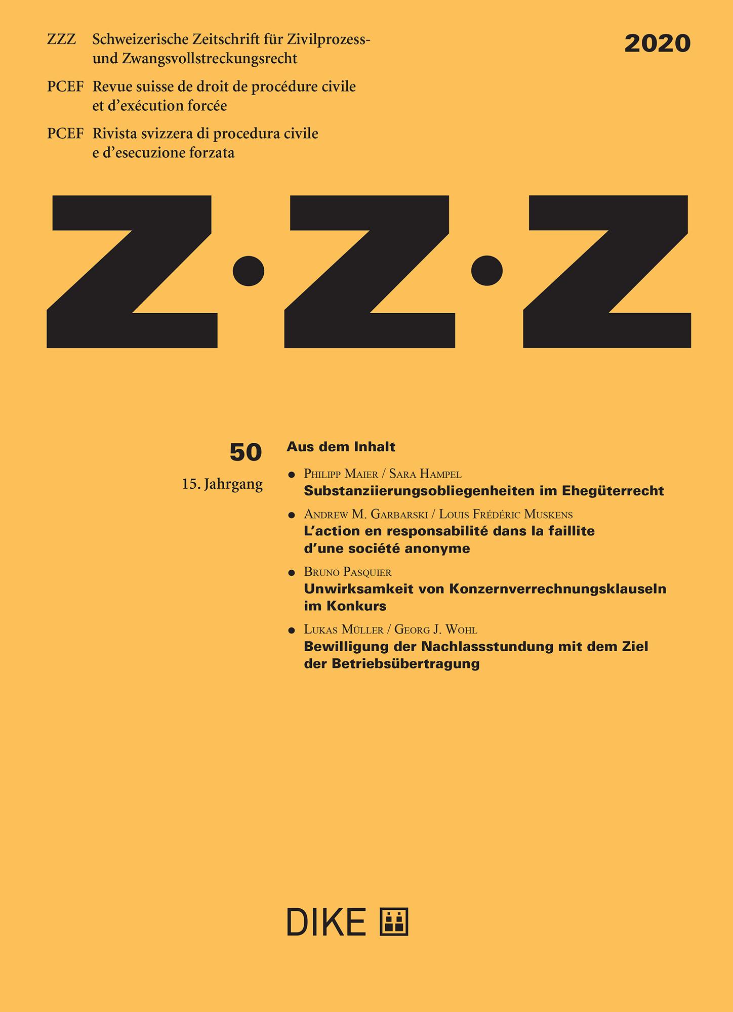 ZZZ 2020 Heft 50