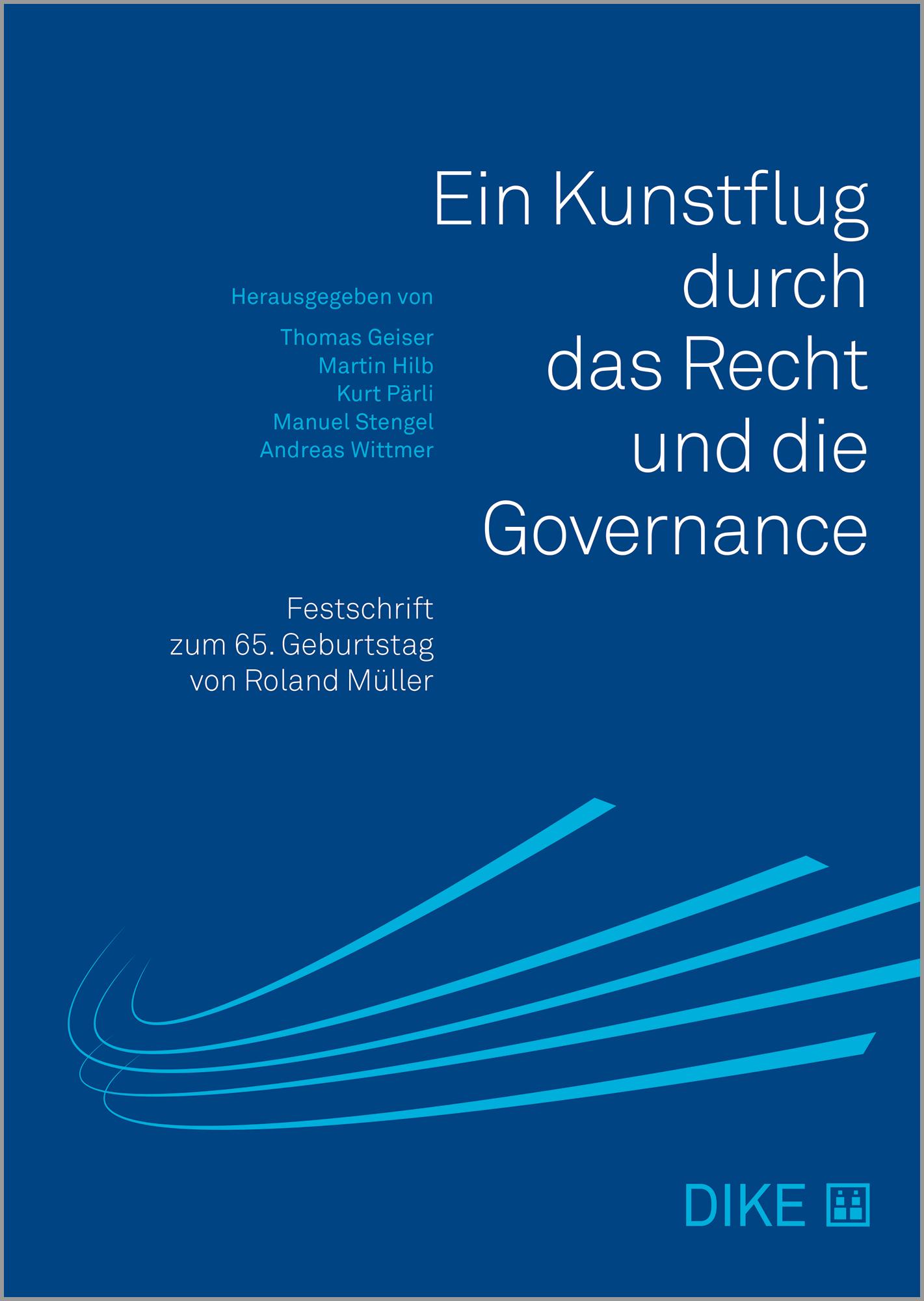 Ein Kunstflug durch das Recht und die Governance