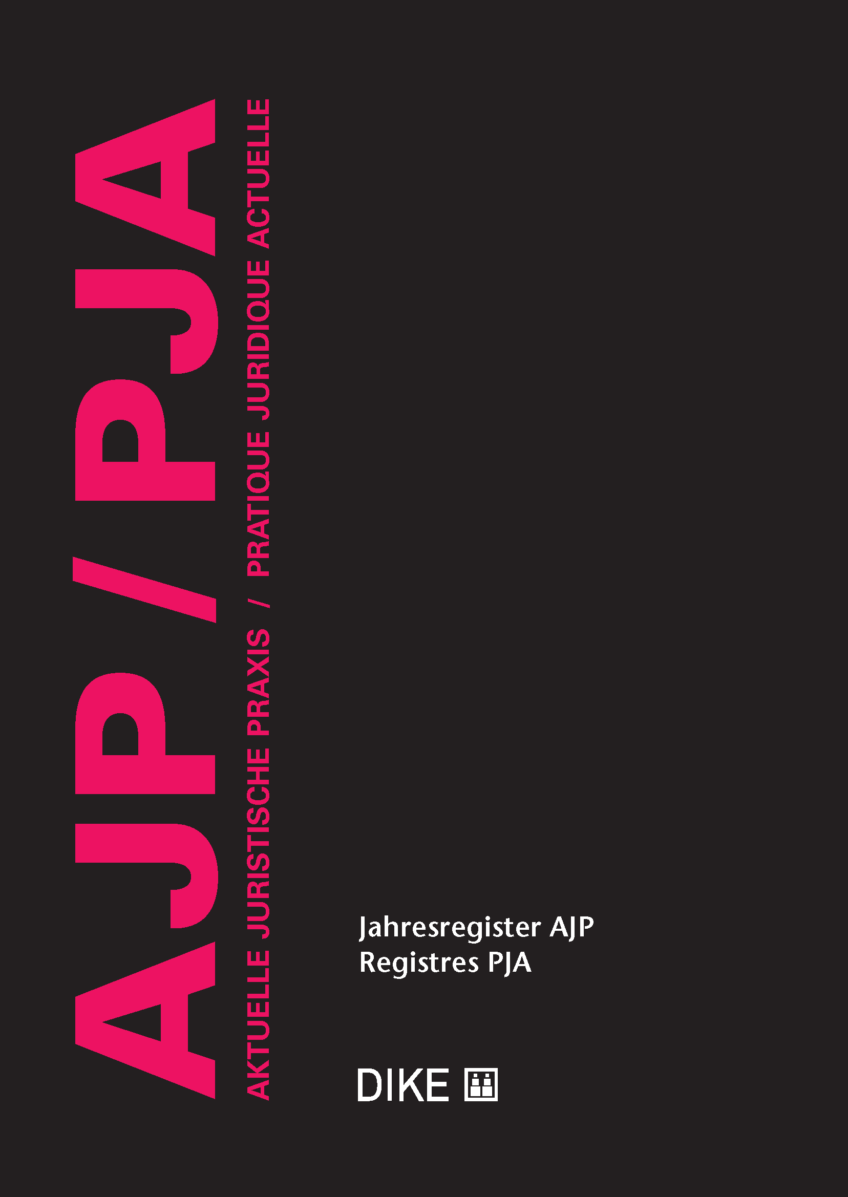 Accessories AJP/PJA Jahresregister