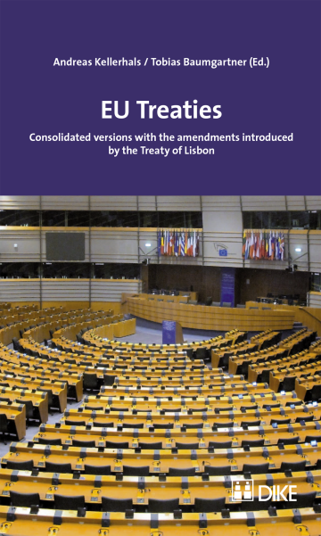 EU Treaties. Consolidated versions with the amendments introduced by the Treaty of Lisbon