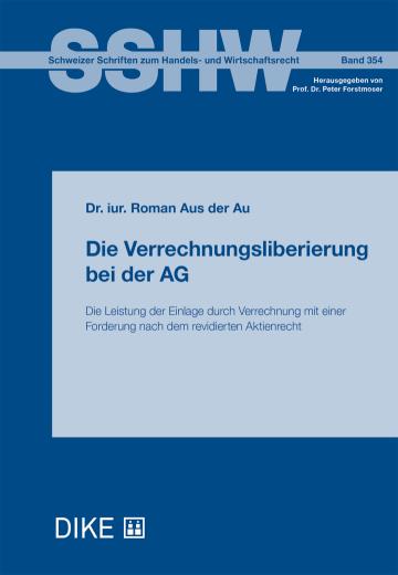 Die Verrechnungsliberierung bei der AG