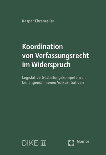 Koordination von Verfassungsrecht im Widerspruch