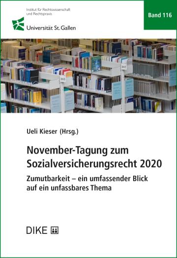 November-Tagung zum Sozialversicherungsrecht 2020
