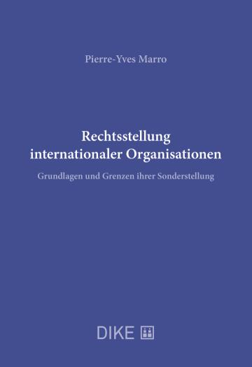 Rechtsstellung internationaler Organisationen