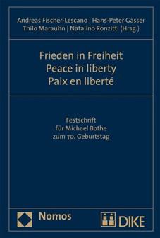 Frieden in Freiheit - Peace in liberty - Paix en liberté