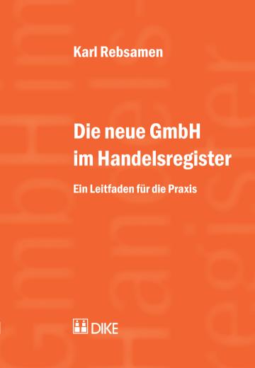 Die neue GmbH im Handelsregister