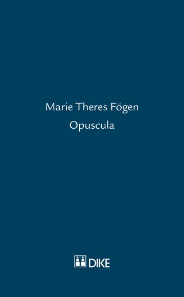 Marie Theres Fögen