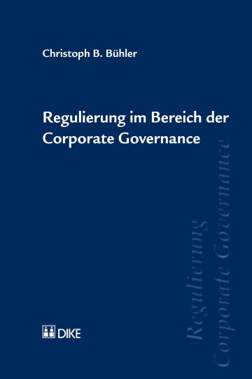 Regulierung im Bereich der Corporate Governance