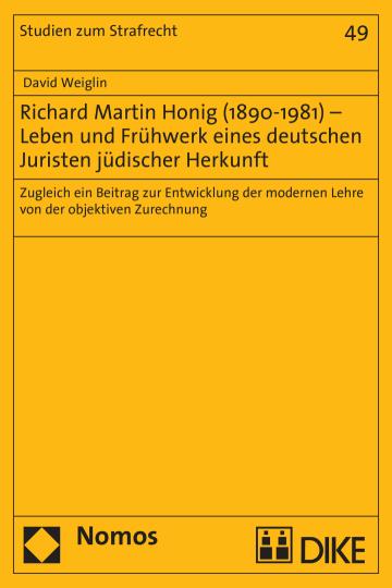 Richard Martin Honig (1890–1981)